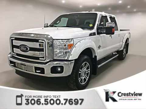 Pre-Owned 2012 Ford Super Duty F-350 SRW Lariat Crew Cab | Leather
