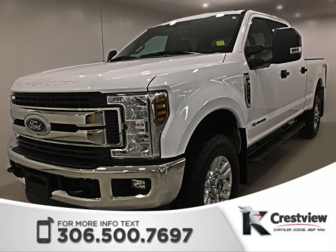 Certified Pre-Owned 2018 Ford Super Duty F-350 SRW XLT Crew Cab | Remote Start