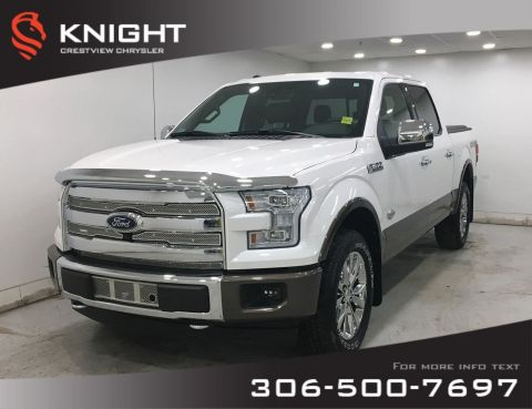 Certified Pre-Owned 2017 Ford F-150 King Ranch SuperCrew | Sunroof | Navigation
