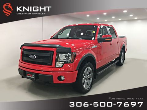 Certified Pre-Owned 2014 Ford F-150 FX4 SuperCrew | Remote Start