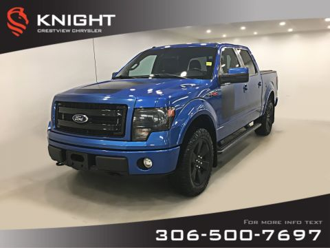Pre-Owned 2013 Ford F-150 FX4 SuperCrew | Leather | Sunroof | Navigation