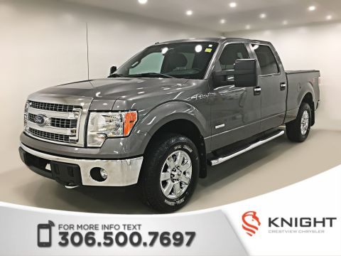 Certified Pre-Owned 2013 Ford F-150 XLT SuperCrew | Remote Start