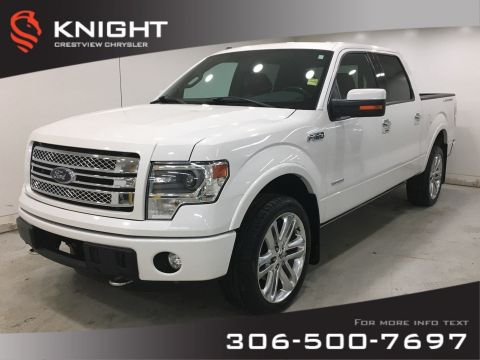 Certified Pre-Owned 2013 Ford F-150 Limited SuperCrew | Sunroof | Navigation | Leather