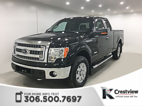 Certified Pre-Owned 2013 Ford F-150 XLT Extended Cab | Remote Start