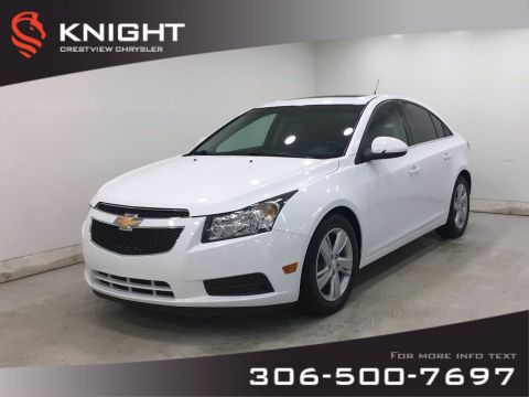 Pre-Owned 2014 Chevrolet Cruze Diesel | Leather | Sunroof
