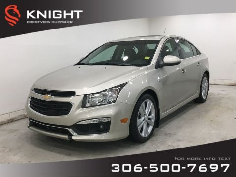 Certified Pre-Owned 2016 Chevrolet Cruze Limited LTZ | RS | Leather | Remote Start