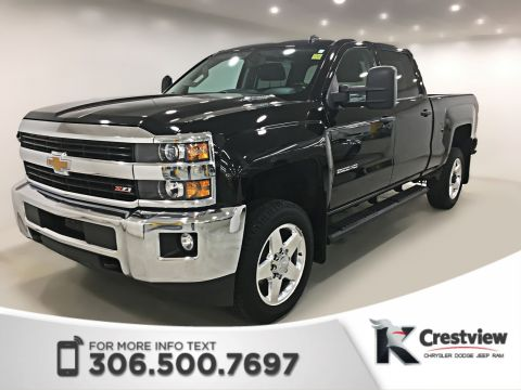Pre-Owned 2015 Chevrolet Silverado 2500HD LT Crew Cab | Leather | Navigation | Remote Start