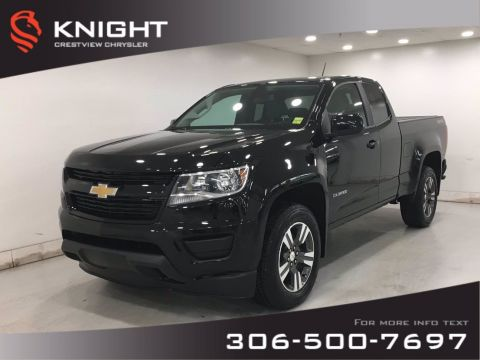 Certified Pre-Owned 2018 Chevrolet Colorado 4WD Work Truck Ext Cab