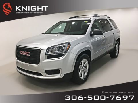 Certified Pre-Owned 2015 GMC Acadia SLE AWD V6 | Heated Seats | Sunroof | Remote Start