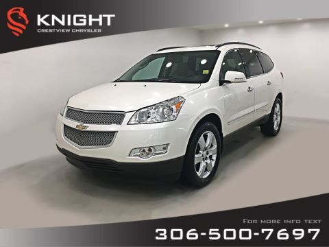 Pre-Owned 2011 Chevrolet Traverse LTZ AWD | Leather | Sunroof