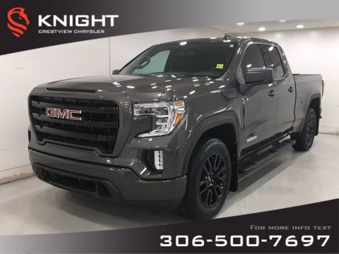 Certified Pre-Owned 2019 GMC Sierra 1500 Elevation Double Cab | Turbo | 4WD Extended Cab Pickup