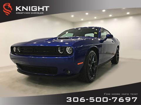 Certified Pre-Owned 2019 Dodge Challenger SXT Plus | Leather | Sunroof | Navigation RWD 2dr Car