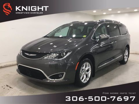 New 2020 Chrysler Pacifica Limited | Sunroof | Navigation | DVD