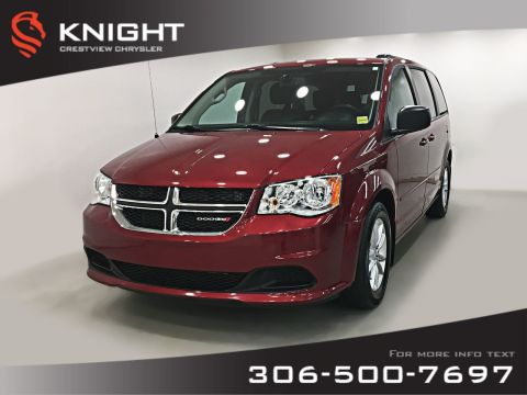 Certified Pre-Owned 2016 Dodge Grand Caravan SXT Plus 'Stow N Go' | DVD | Remote Start