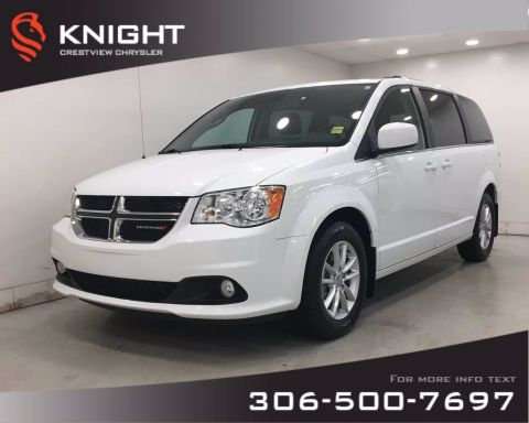 Certified Pre-Owned 2019 Dodge Grand Caravan SXT Premium Plus | Leather | DVD |