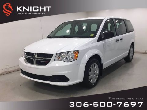 New 2020 Dodge Grand Caravan SE Canada Value Package