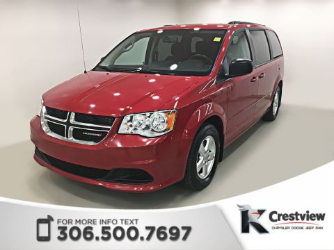 Pre-Owned 2012 Dodge Grand Caravan SXT Plus 'Stow N Go' | DVD
