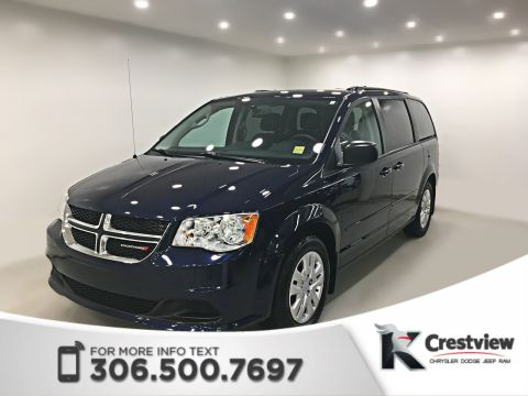 Certified Pre-Owned 2017 Dodge Grand Caravan SXT 'Stow N Go' | DVD | Remote Start