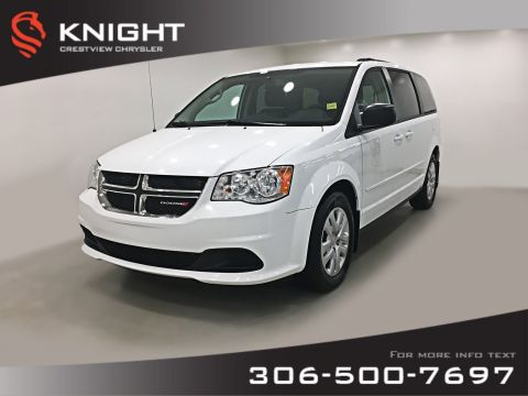 Certified Pre-Owned 2016 Dodge Grand Caravan SXT 'Stow N Go' | DVD | Remote Start