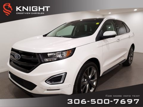 Certified Pre-Owned 2017 Ford Edge Sport AWD | Leather | Sunroof | Navigation