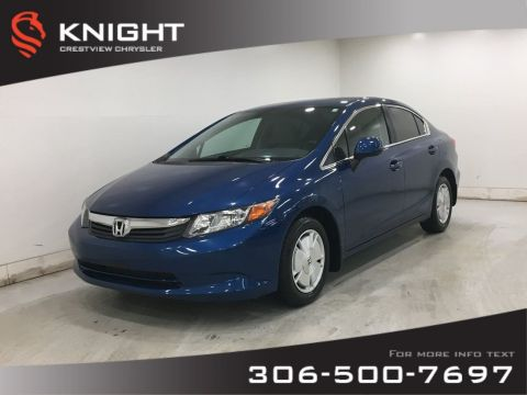 Certified Pre-Owned 2012 Honda Civic Sdn LX