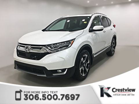 Certified Pre-Owned 2018 Honda CR-V Touring AWD | Leather | Sunroof | Navigation