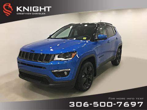 New 2019 Jeep Compass Altitude 4x4 | Heated Seats and Steering Wheel | Remote Start 4WD Sport Utility