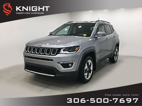 New 2019 Jeep Compass Limited 4x4 | Sunroof | Navigation