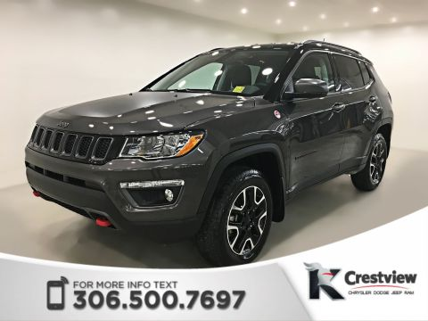 New 2019 Jeep Compass Trailhawk 4x4 | Navigation