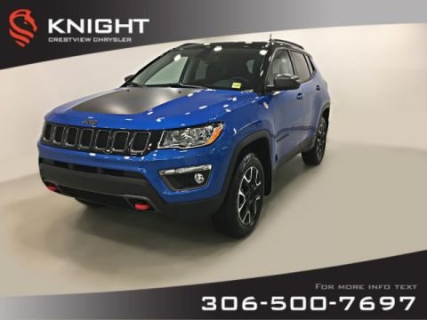 New 2019 Jeep Compass Trailhawk 4x4 | Sunroof | Navigation