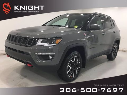 New 2021 Jeep Compass Trailhawk Elite 4x4 | Leather | Navigation |