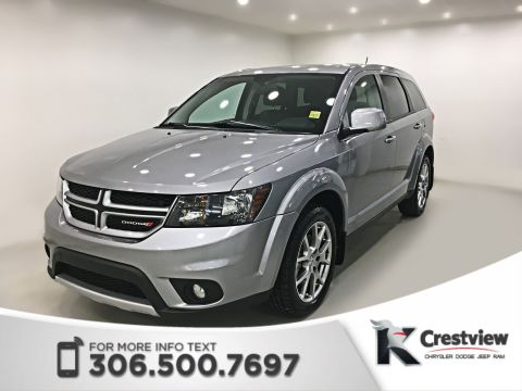 Certified Pre-Owned 2015 Dodge Journey R/T Rallye AWD V6 | Leather | DVD
