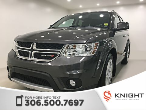 Certified Pre-Owned 2015 Dodge Journey R/T AWD V6 | Leather | Sunroof | DVD