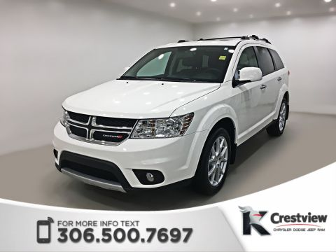 Certified Pre-Owned 2017 Dodge Journey GT AWD V6 | Sunroof | DVD AWD Sport Utility