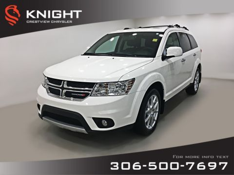Certified Pre-Owned 2017 Dodge Journey GT AWD V6 | Sunroof | DVD