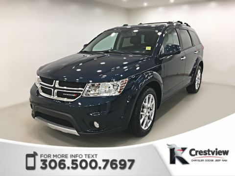 Certified Pre-Owned 2014 Dodge Journey R/T AWD V6 | Sunroof | Navigation | DVD