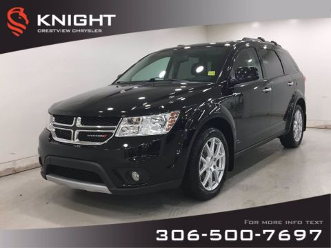 Certified Pre-Owned 2017 Dodge Journey GT AWD | Leather | Sunroof | DVD | Navigation |