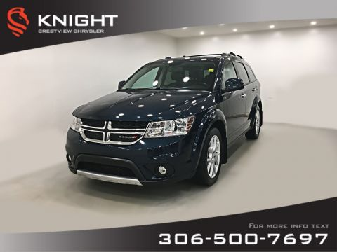 Pre-Owned 2014 Dodge Journey R/T AWD V6 | Leather | Sunroof | Navigation | DVD