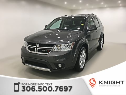 Certified Pre-Owned 2015 Dodge Journey R/T AWD | Leather | DVD