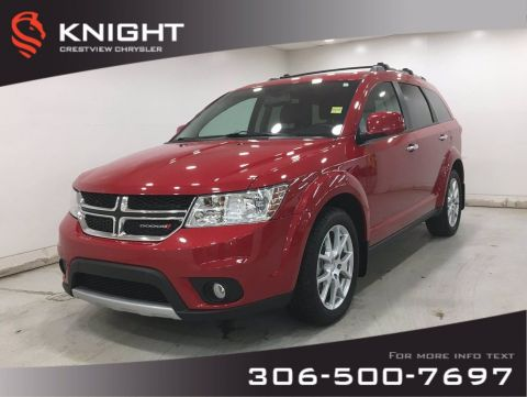 Certified Pre-Owned 2017 Dodge Journey GT AWD | Leather | DVD | Sunroof