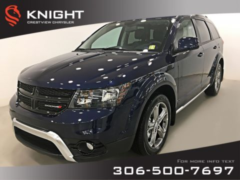 Certified Pre-Owned 2017 Dodge Journey Crossroad AWD V6 | DVD | Sunroof