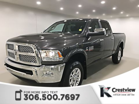 Pre-Owned 2017 Ram 3500 Laramie Crew Cab | Navigation | Remote Start
