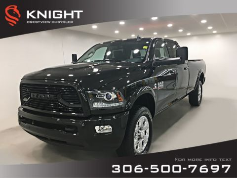 Certified Pre-Owned 2018 Ram 3500 Laramie Crew Cab | Remote Start