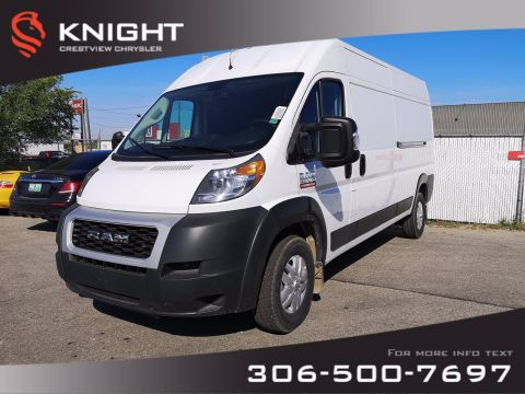 New 2019 Ram ProMaster Cargo Van 159 WB High Roof | FLEET SPECIAL