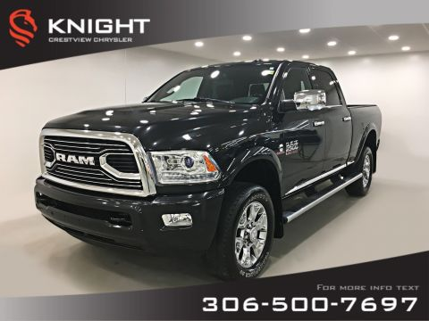 Pre-Owned 2016 Ram 2500 Longhorn Crew Cab | Ventilated Seats | Sunroof | Navigation