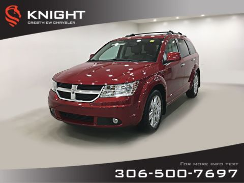 Pre-Owned 2010 Dodge Journey R/T AWD V6 | Sunroof | DVD | Remote Start
