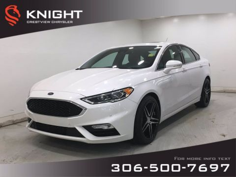 Pre-Owned 2017 Ford Fusion V6 Sport AWD | Leather | Sunroof | Remote Start