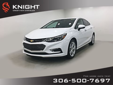 Pre-Owned 2017 Chevrolet Cruze Premier | Leather | Sunroof | Navigation