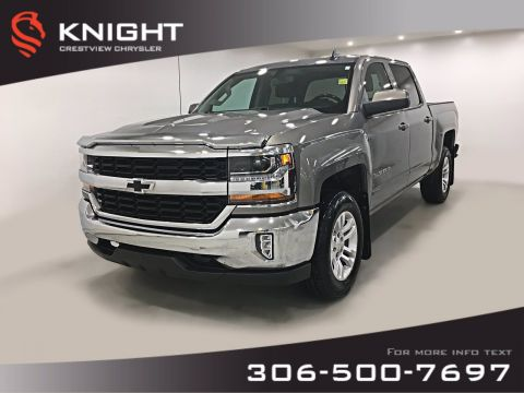 Certified Pre-Owned 2017 Chevrolet Silverado 1500 LT Crew Cab V8 | Remote Start | Back-up Camera