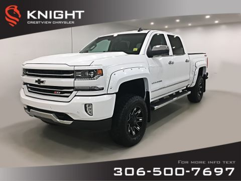 Pre-Owned 2017 Chevrolet Silverado 1500 LTZ Crew Cab | Leather | Sunroof | Navigation